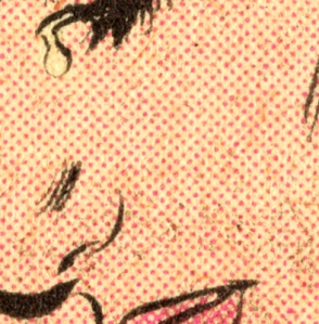 Romita benday detail