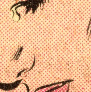 Romita benday detail