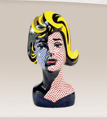Roy Lichtenstein The Man Who Didnt Paint Benday Dots on Ben Day Dots
