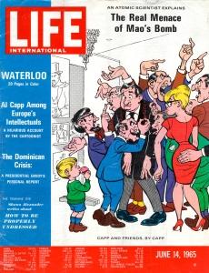 Al Capp Life Intl 14061965 cover