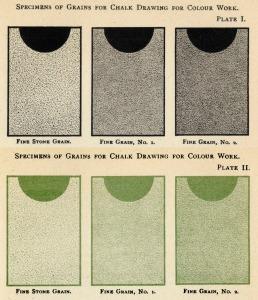 Grained paper black top row black & green_72 dpi