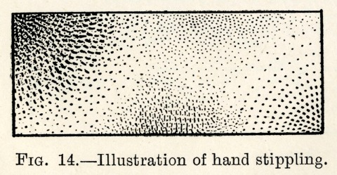 Rhodes Hand Stipple