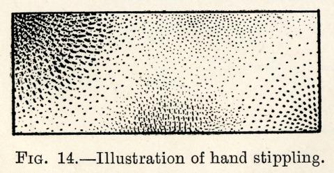 Rhodes Hand Stipple