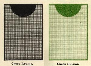 Transfer patterns black & green cross 72 dpi