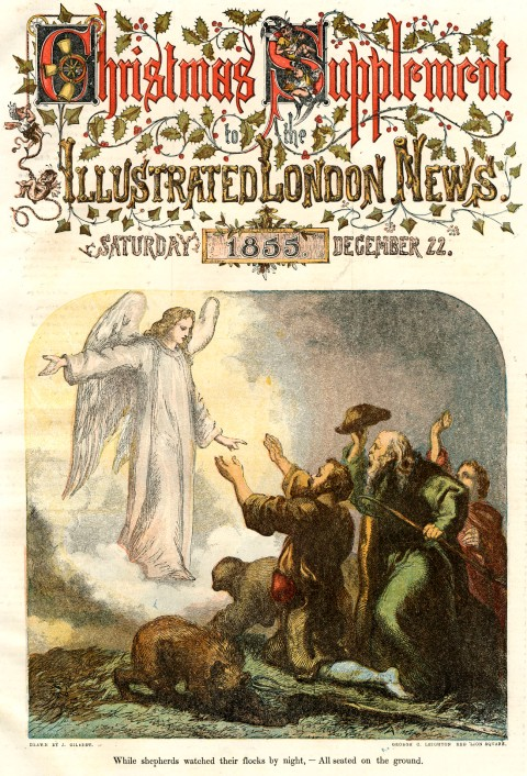 Illustrated London News cover 1855