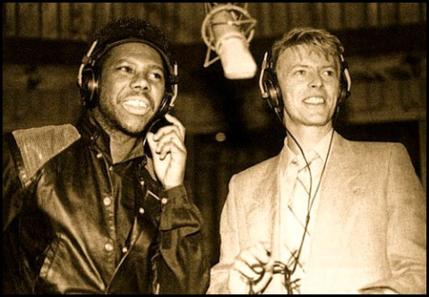 Nile Rogers with Bowie