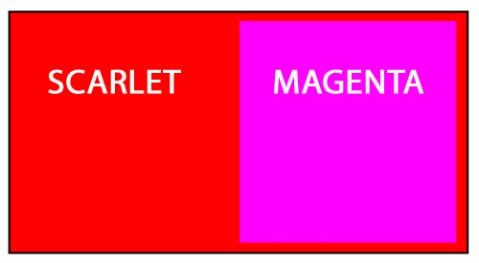 Scarlet Magenta B
