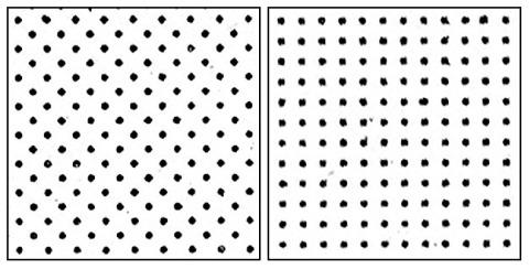 no 555 40 per inch square x 2
