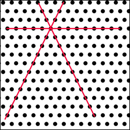 Offset dots black_w red lines