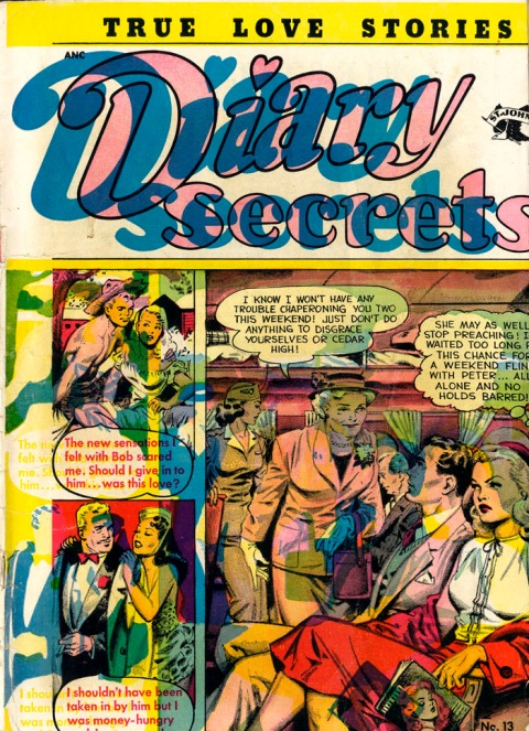 Diary Secrets 13 front