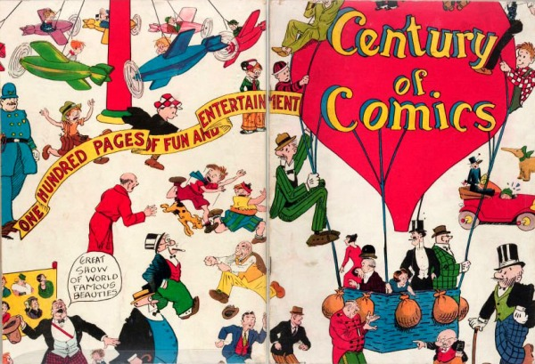 Century of comics merged