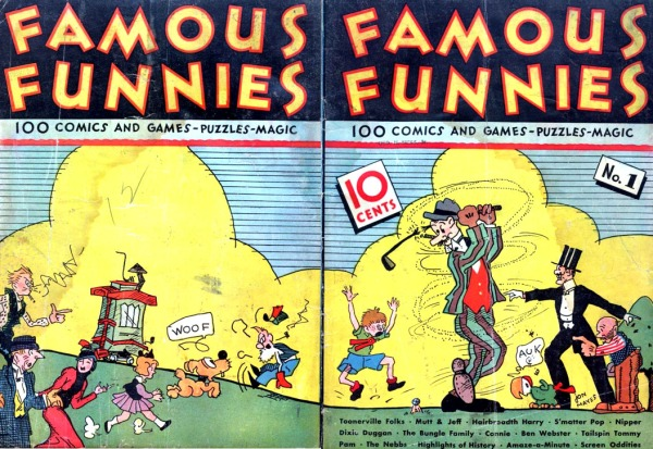 Famous Funnies1 wrap cover