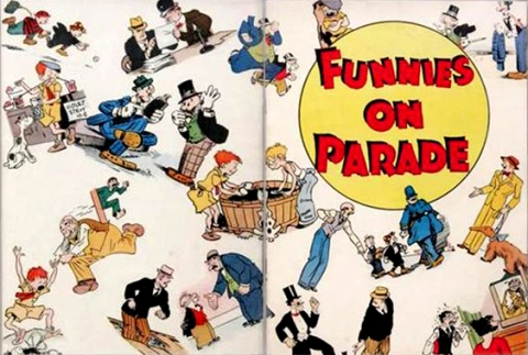 Funnies on Parade merge