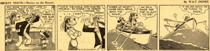 Mickey Mouse daily strip Gottfredson