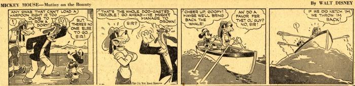 Mickey Mouse daily strip Gottfredson