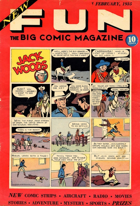 NEW FUN COMICS 1 1935