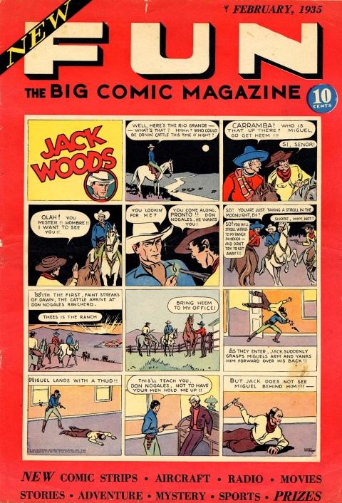 NEW FUN COMICS 1 1935