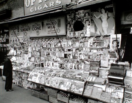 Image result for comic books on newsstands 1940's
