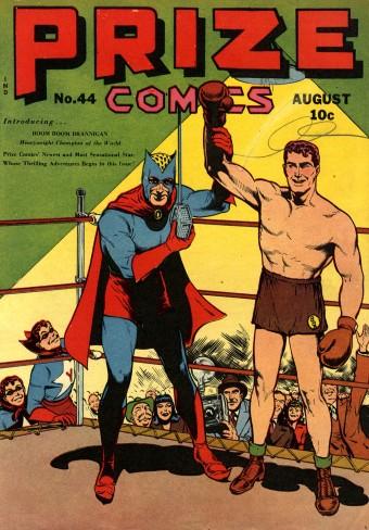 Prize Comics 44 cover