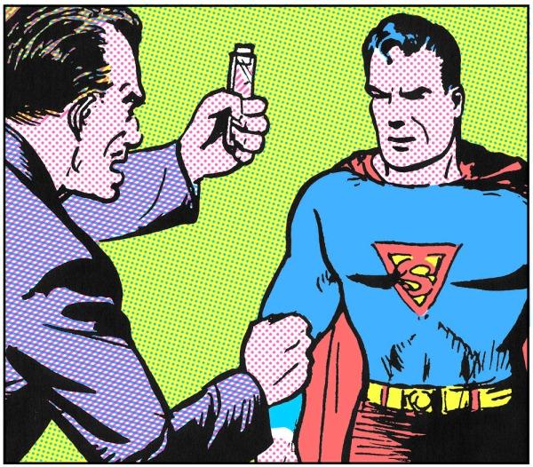 Superman craftint 3 colours
