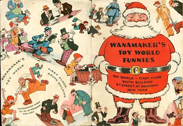 Wanamaker's Toy World comics
