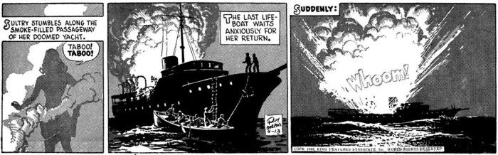 Buz Sawyer daily 1946